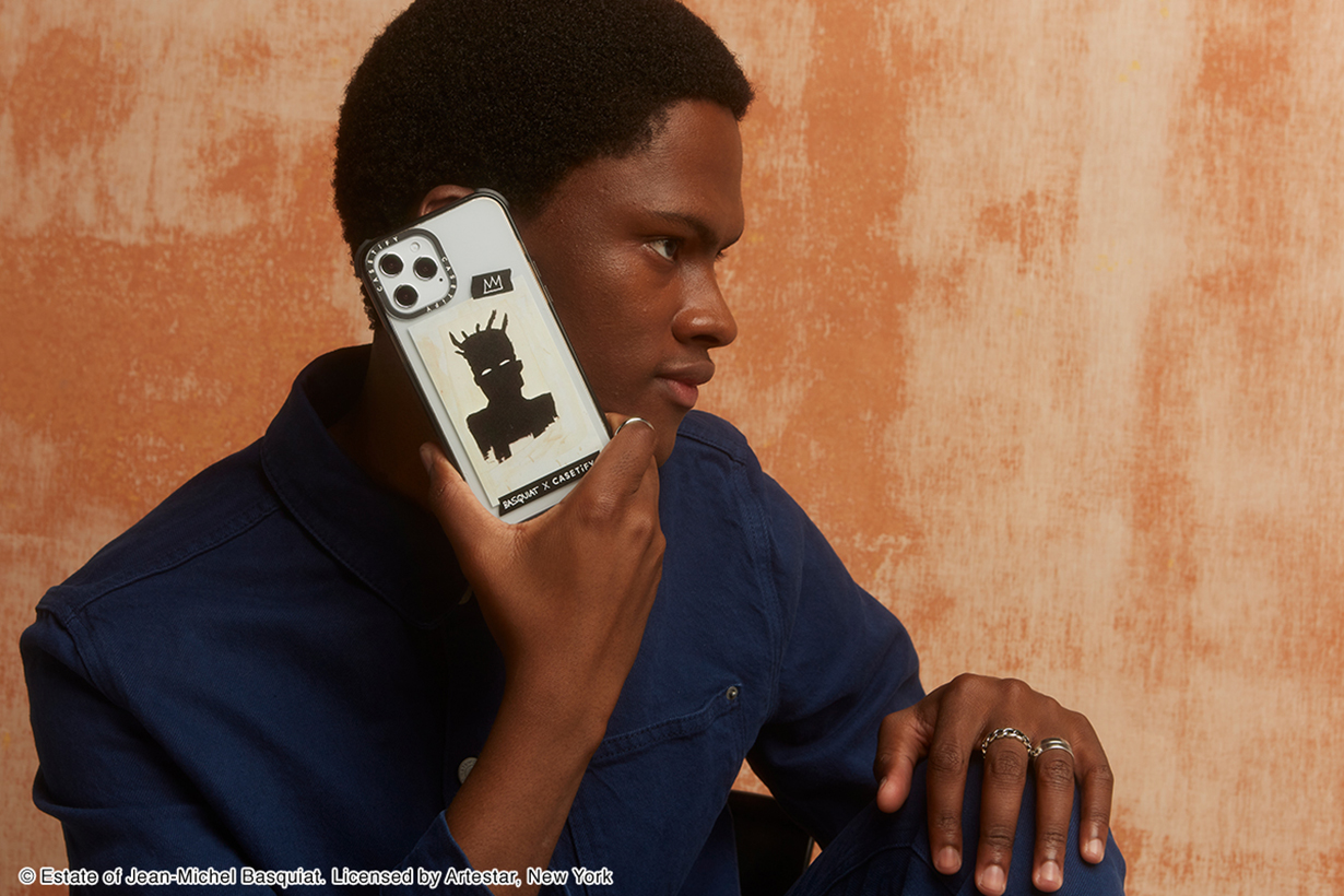 CASETiFY Jean-Michel Basquiat