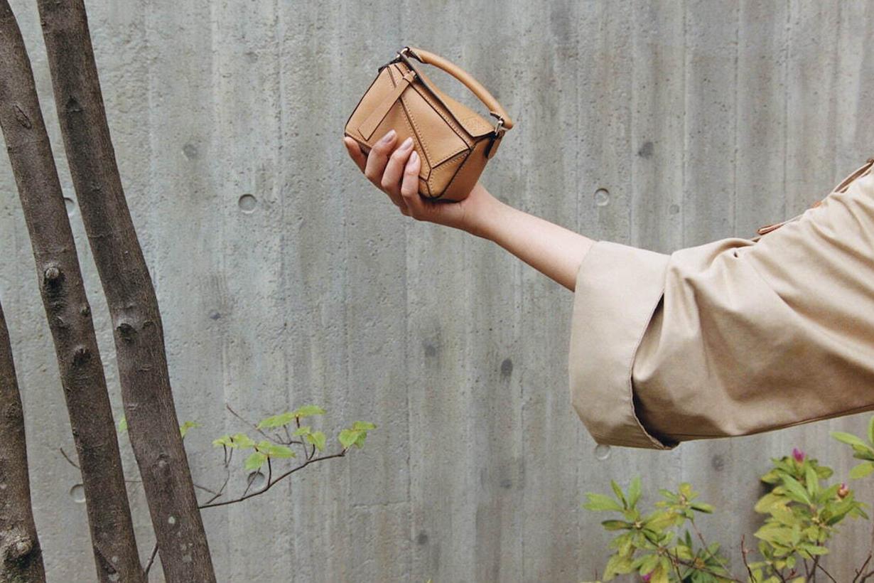 Loewe Puzzle Edge Bag handbags 2021ss