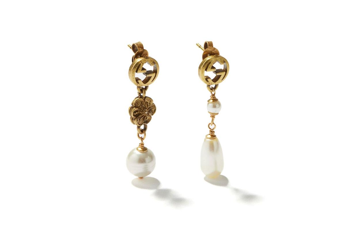 Gucci necklace earrings bracelet accessories vintage