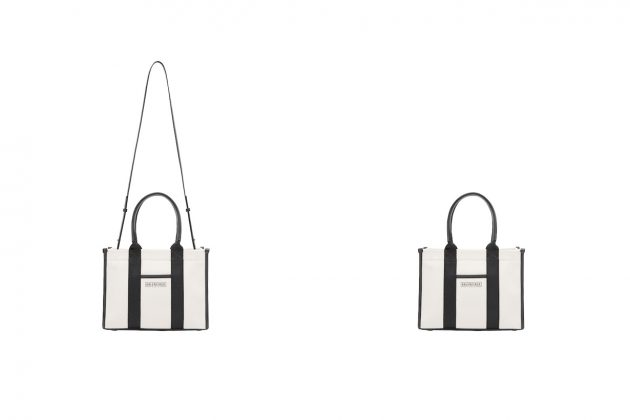 balenciaga hardware tote bag navy cabas new 2021