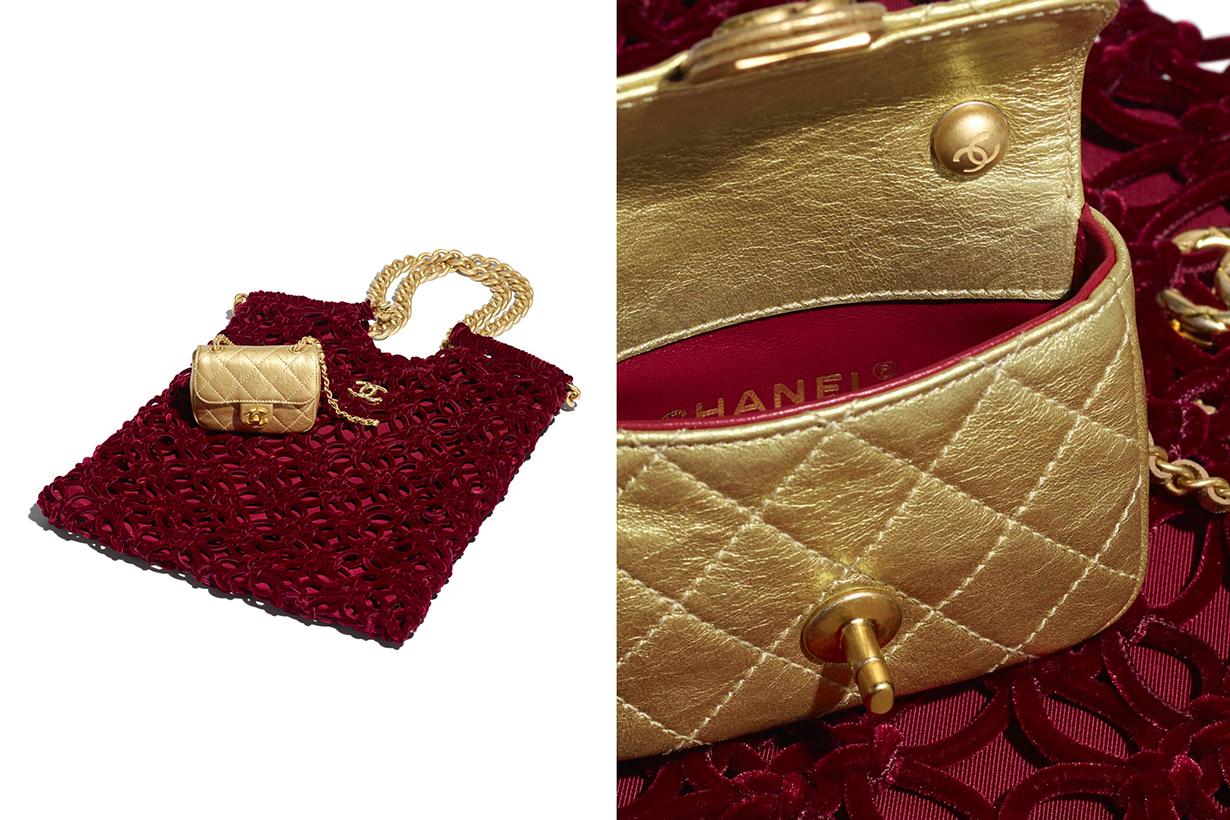 chanel 2020/21 Métiers d'art shopping bag handbags