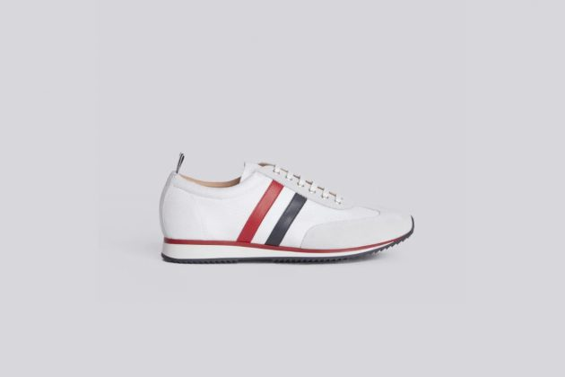adidas thom browne lawsuit 2021 filed new york sports line sneakers how trademark
