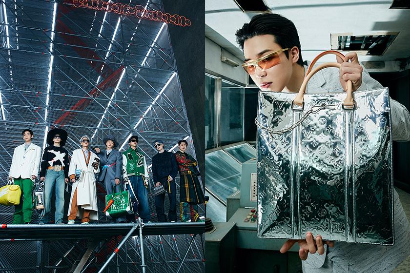 BTS Virgil Abloh Louis Vuitton Fall-Winter 2021 Show Seoul