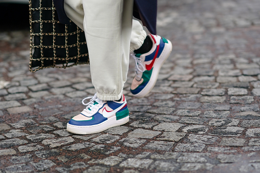 Lyst 2021 Hottest Products Gucci Dad Sandals Nike Air Force 1