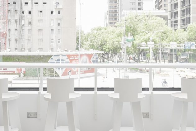 cafe!n taipei Minquan flagship cafe all white opening instagram