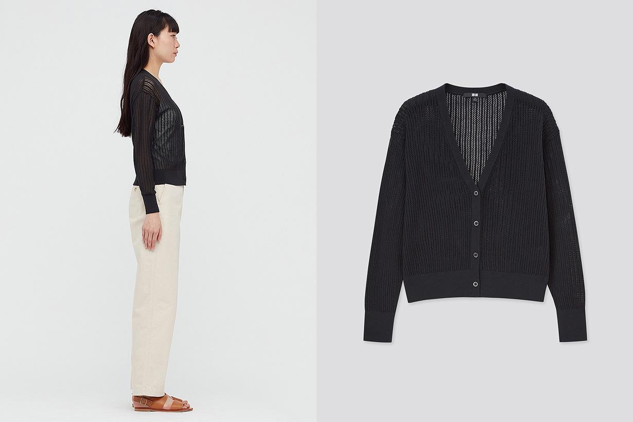 UNIQLO cotton short cardigan 2021ss fashion trend