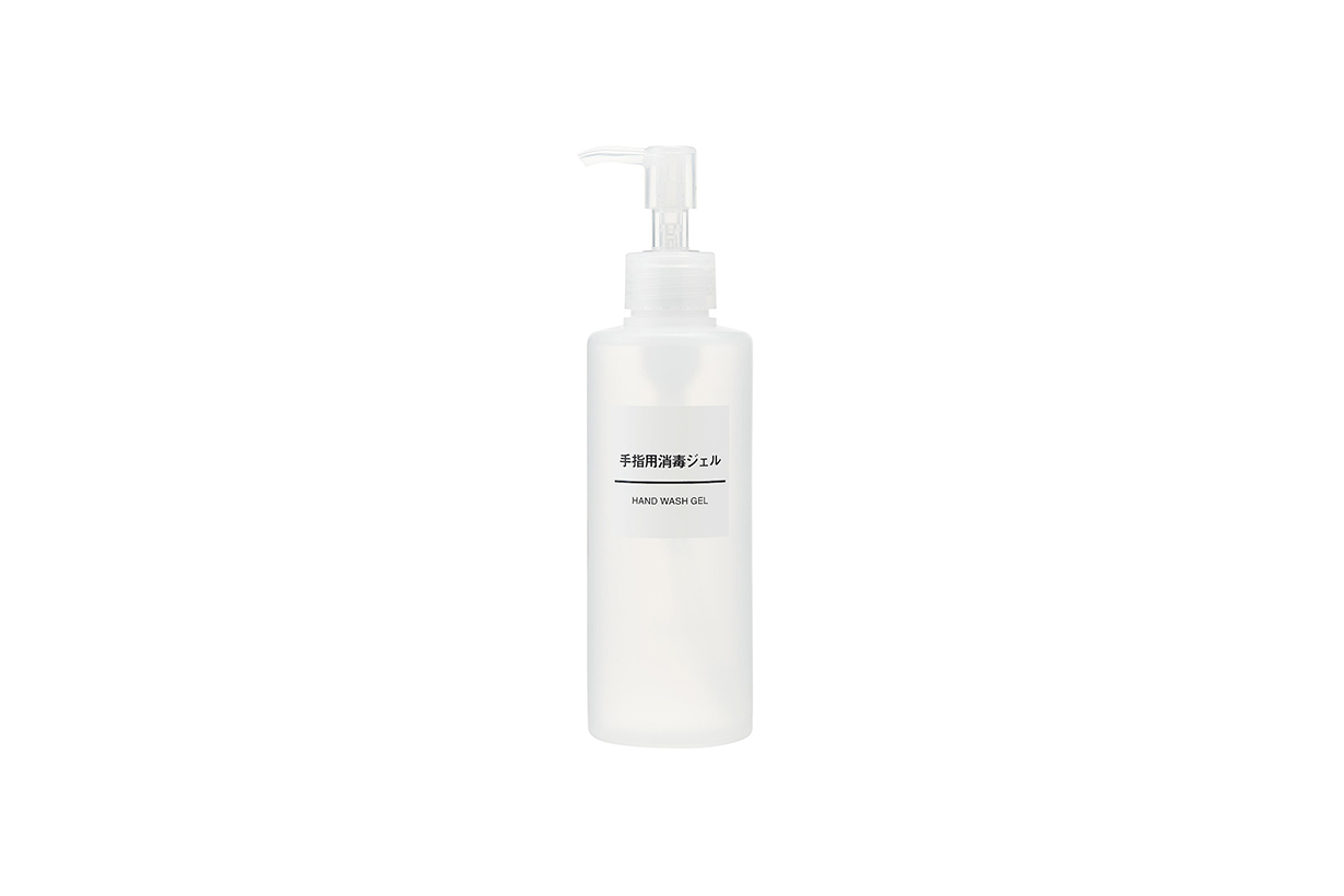 Japan Muji Covid-19 coronavirus pandemic Hand Wash Gel Hand Cream sterilization cleansing moisturizing