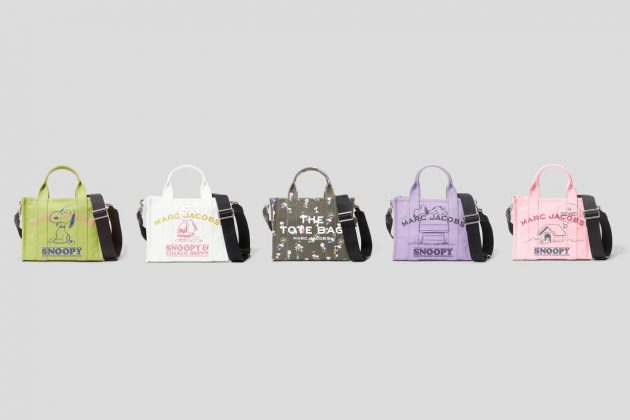 marc jacobs peanuts snoopy new collab 2021 tote snapshot
