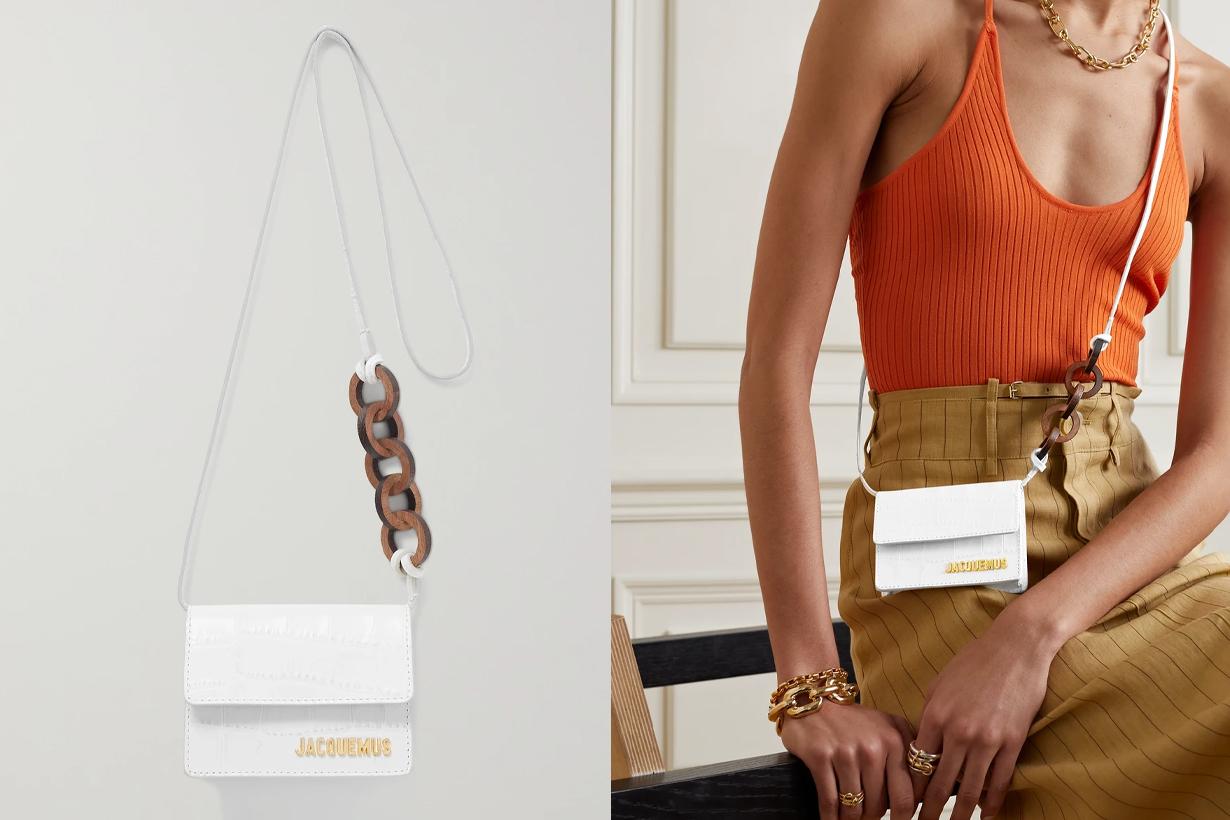 Mini bag trends 2021 Mini Handbags Trends Tiny Handbags SUSAN FANG GUCCI JACQUEMUS BOTTEGA VENETA Balenciaga