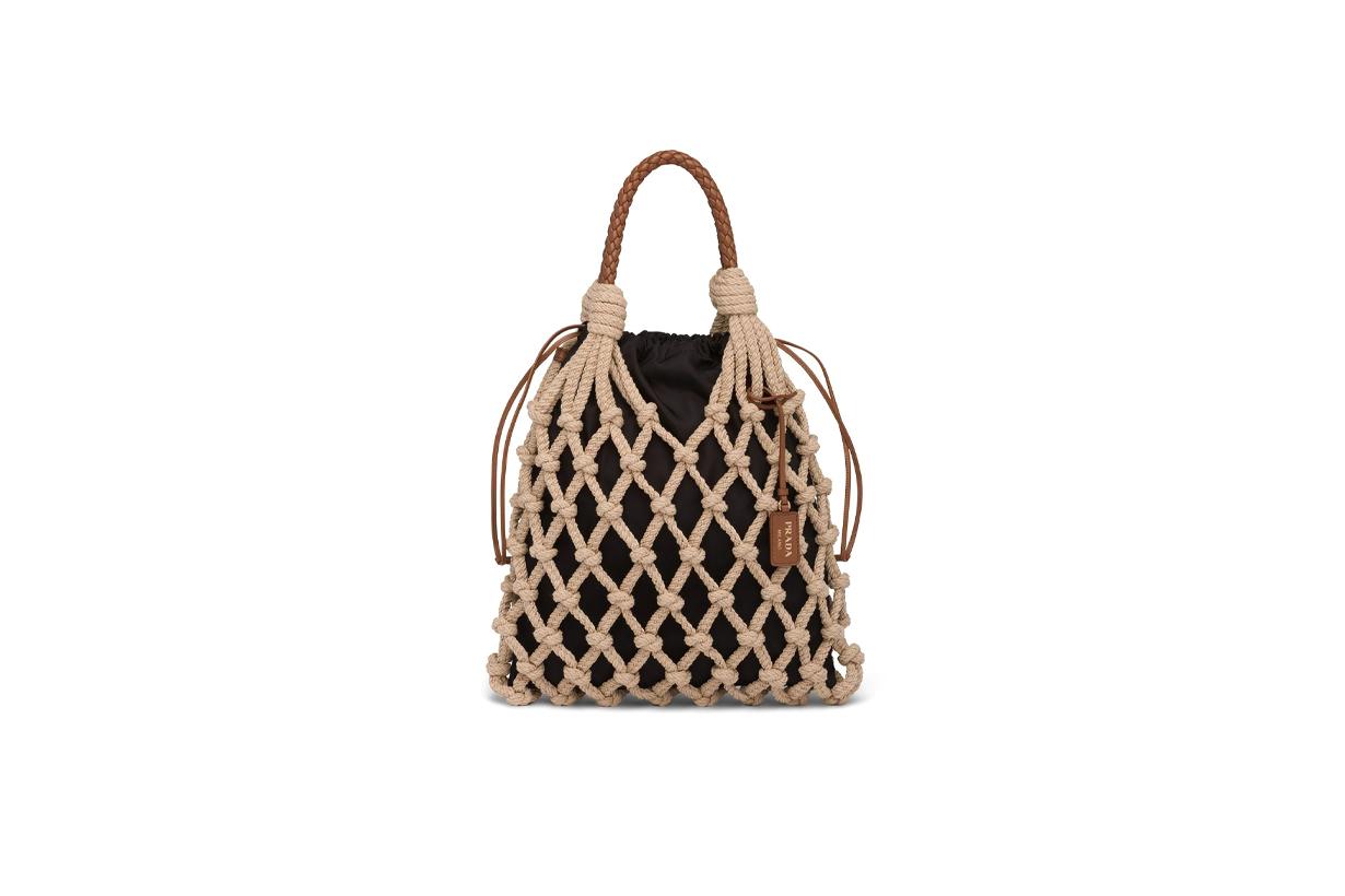 Prada knotted cord tote bag Handbags 2021 spring summer IT bag 2021