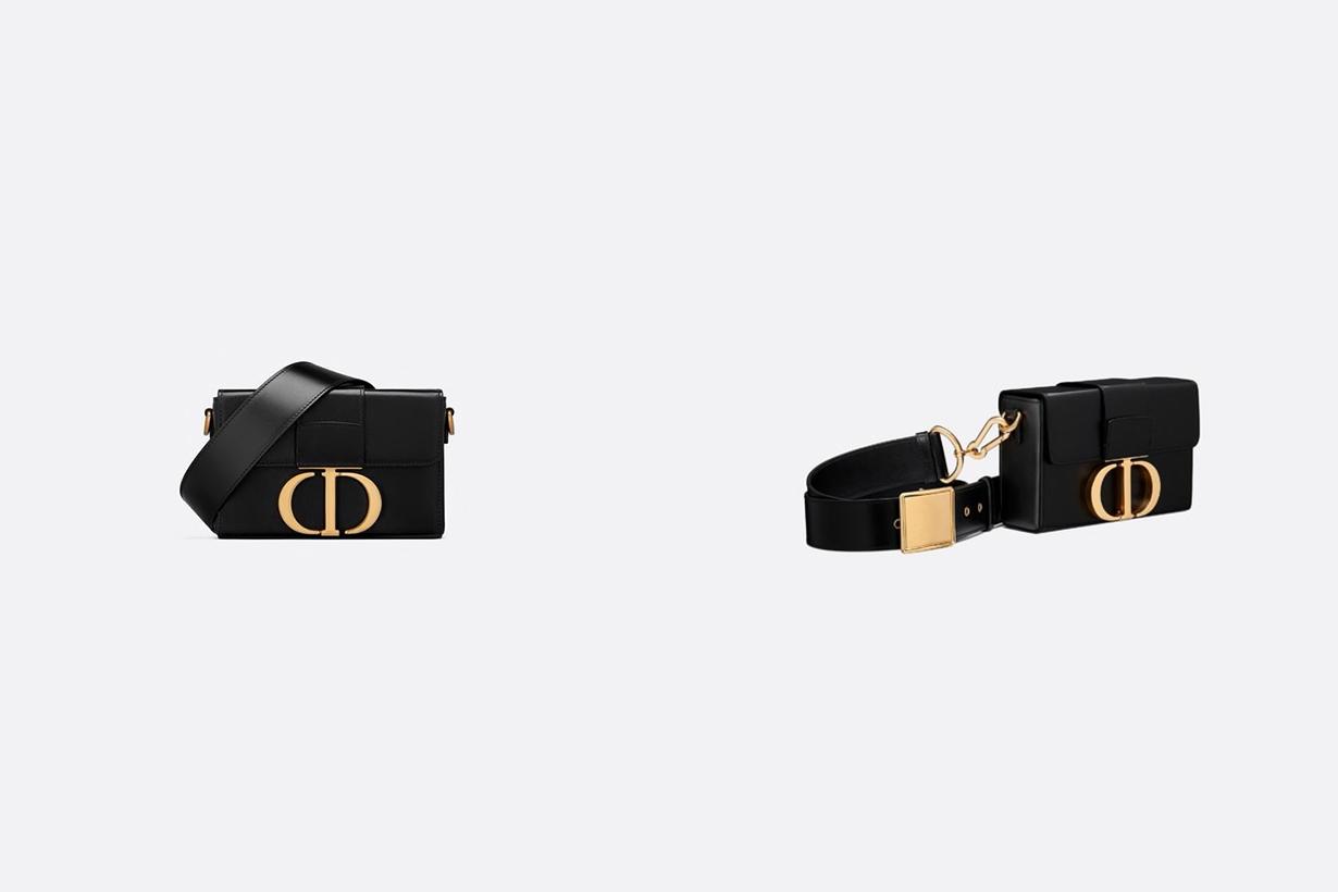 dior 30 montaigne box bag detachable caro half moon coin purse handbags mini bags