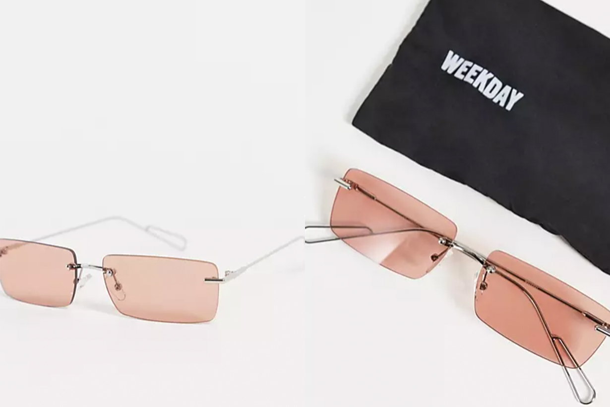 Y2K style sunglasses