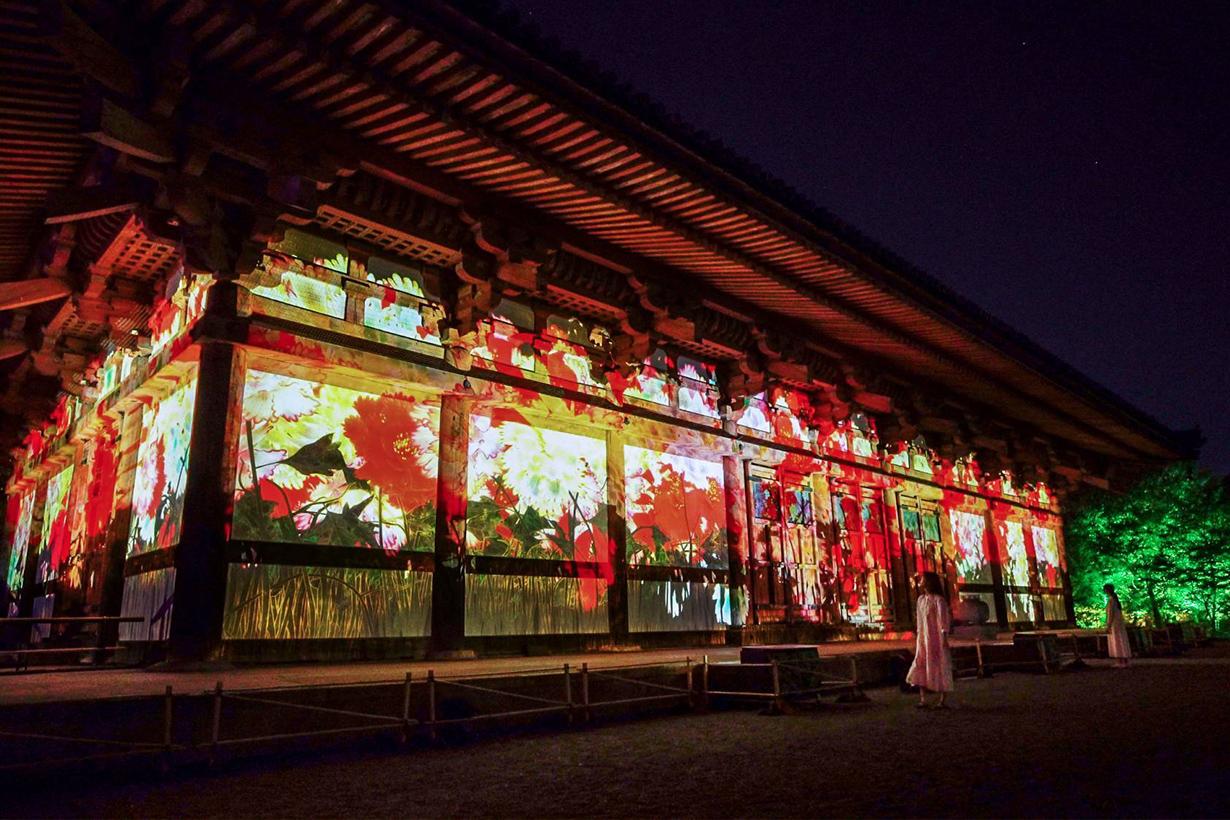 teamLab Digitized World Heritage Site of Toji TOKIO INKARAMI