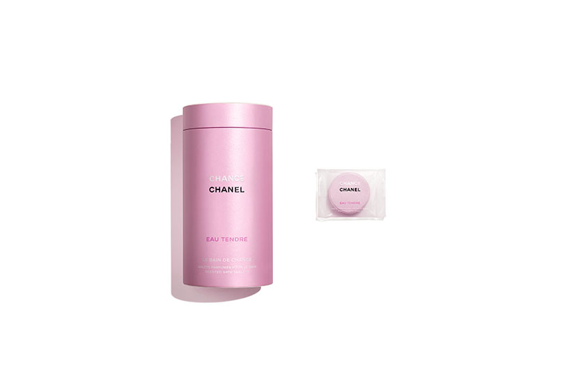 Chanel Chance Pink scented bath tablets Hair Oil