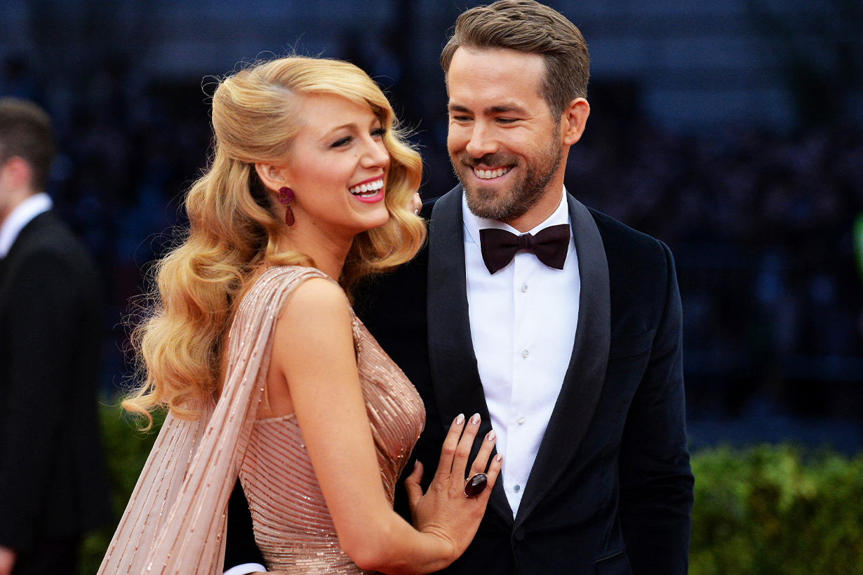 Blake Lively Ryan Reynolds Celebrities Couples Marriage Love Relationship Pranking Jokes Hollywood actors actresses
