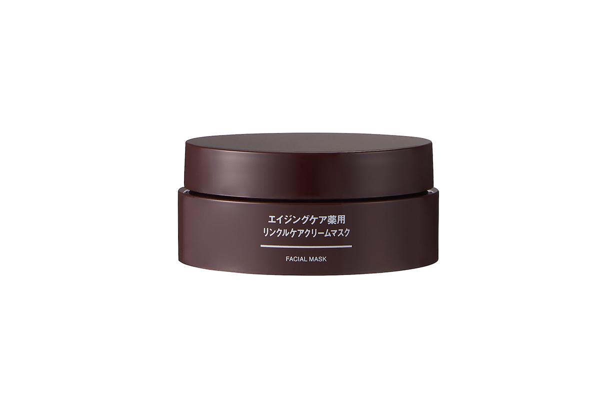 Japan Muji Aging Care Medicinal Wrinkle Care Cream Mask Facial Mask Japanese Skincare Japanese Girls