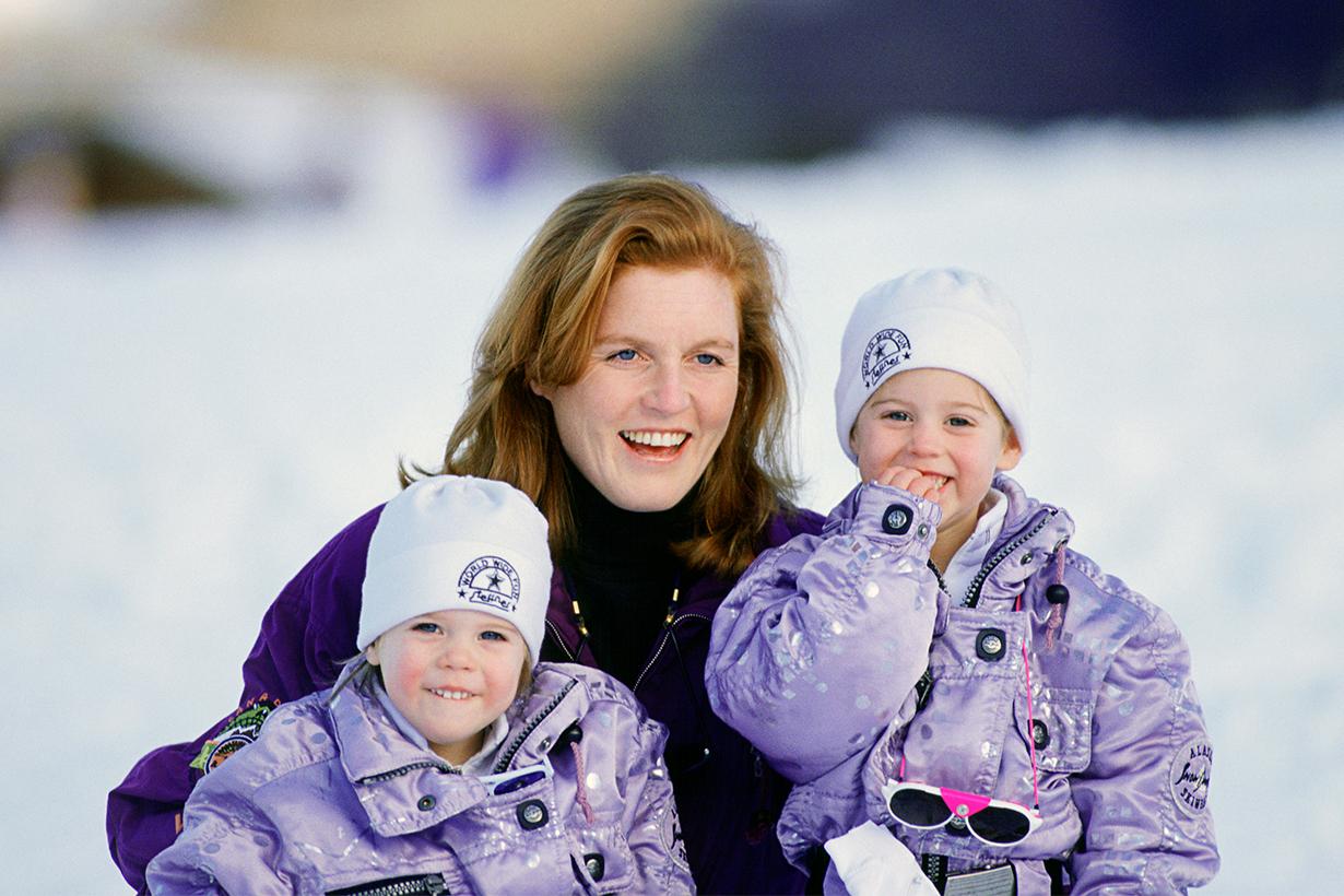 Princess Eugenie Prince Andrew Sarah Ferguson Princess Beatrice Jack Brooksbank British Royal Family