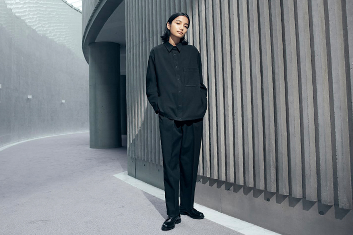 uniqlo x theory 2021fw collection Japan release info