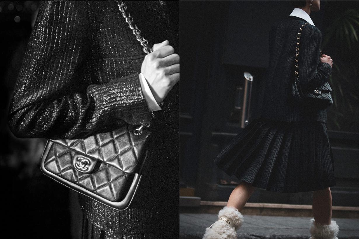 chanel small flag bag 2021fw handbags