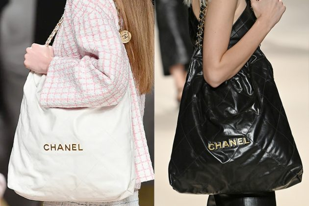 chanel jennie shopping bag 2022 ss favorite runway