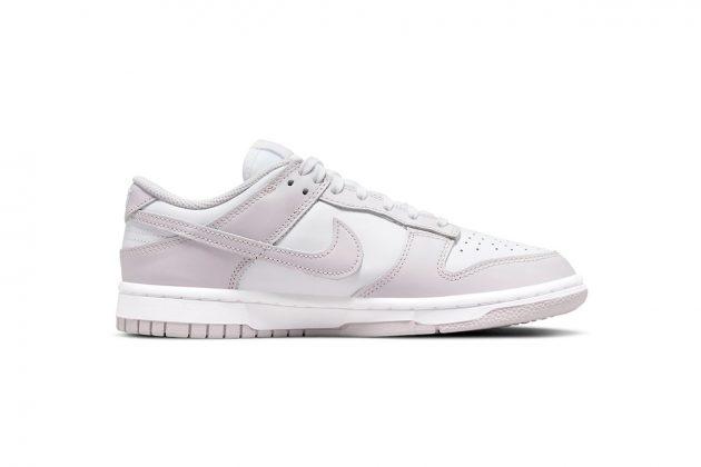 nike sb dunk low light violet sneakers release